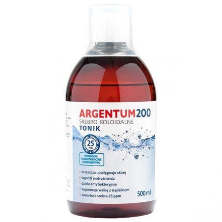 Argentum200 Srebro Koloidalne 25 ppm (500 ml) Aura Herbals
