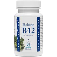 Witamina B12 do ssania 1000 mcg (100 tabl.) Holistic