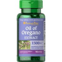 Oil of Oregano - Olejek z Oregano 1500 mg (90 kaps.) Puritan's Pride