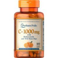 Witamina C z Bioflawonoidami i Dziką Różą 1000 mg (100 tabl.) Puritan's Pride