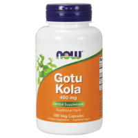 Gotu Kola 450 mg (100 kaps.) Now Foods