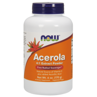 Acerola - naturalna Witamina C (170 g) Now Foods