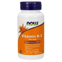 Witamina K2 100 mcg (100 kaps.) Now Foods