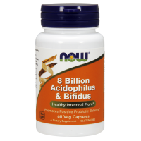 8 Billion Acidophilus & Bifidus - Probiotyk (60 kaps.) Now Foods