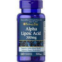 Kwas Alfa Liponowy 300 mg / 60 kaps