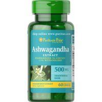 Ashwagandha 500 mg (60 kaps.) Puritan's Pride
