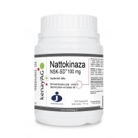 Nattokinaza NSK-SD 100 mg (300 kaps.) JBSL-USA