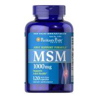 Metylosulfonylometan - MSM 1000 mg (120 kaps.) Puritan's Pride