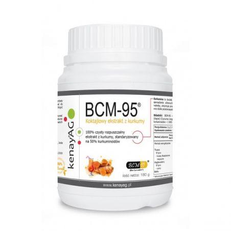 BCM-95 rozpuszczalny ekstrakt z kurkumy (Biocurcumin) (180 g) Arjuna Natural Extracts