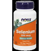 Selen 200 mcg (90 kaps.) Now Foods