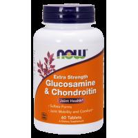 Glukozamina z Chondroityną (60 tabl.) Now Foods