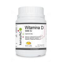 Witamina D 5000 IU (300 kaps.) Soft Gel
