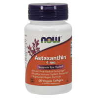 Naturalna Astaksantyna 4 mg (60 kaps.) Now Foods