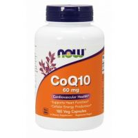 CoQ10 - Koenzym Q10 60 mg (180 kaps.) Now Foods