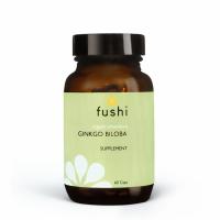 BIO Ginkgo Biloba - Miłorząb Japoński 340 mg (60 kaps.) Fushi
