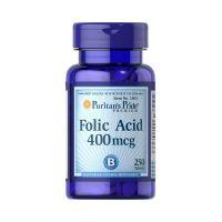 Folic Acid - Kwas foliowy 400 mcg (250 tabl.) Puritan's Pride