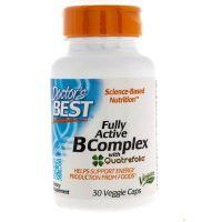 Kompleks Wit. z grupy B i Kwas Foliowy - Fully Active B Complex (30 kaps.) Doctor's Best