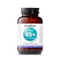 Flora Bakteryjna - Synbiotyk 40+ (60 kaps.) Viridian
