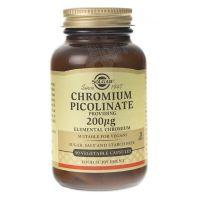 Chromium Picolinate - Chrom Pikolinian 200 mcg (90 kaps.) Solgar
